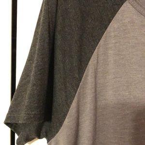 LuLaRoe Dresses - Lularoe Large Grey Carly